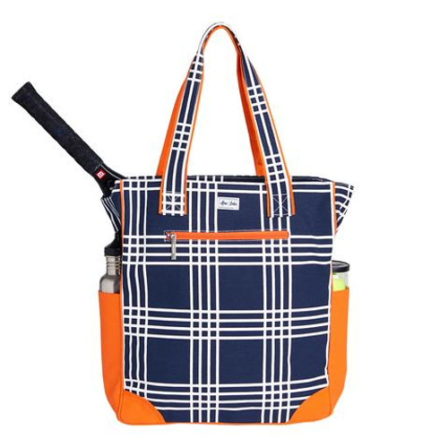 Ame & Lulu Emmerson Ladies Tennis Tote Bag - Abbey Plaid (only 10 left!)