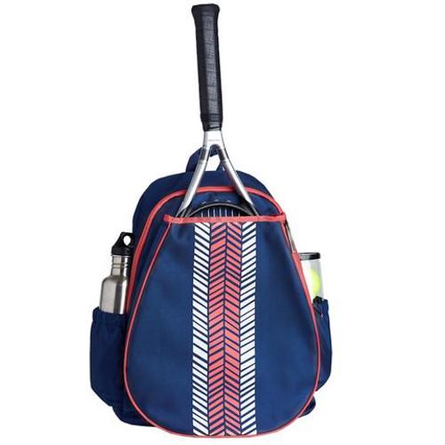 Ame & Lulu Love All Tennis Backpack - Pink Shutters