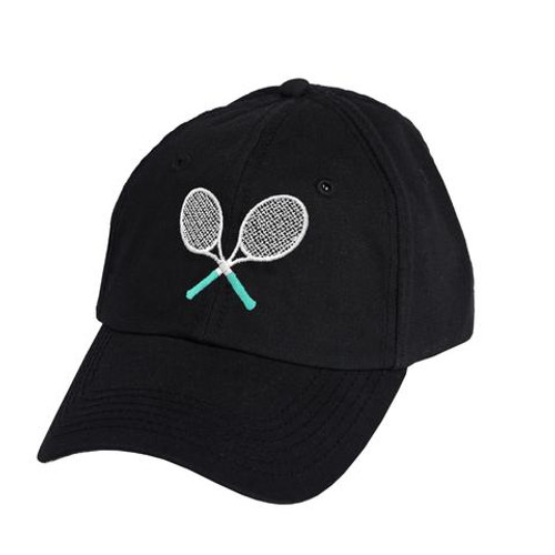 Ame & Lulu Tennis Lovers Hat - Black Shutters