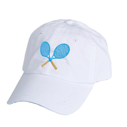 Ame & Lulu Tennis Lovers Hat - Ticking Stripe