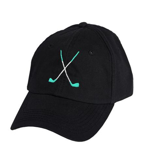 Ame & Lulu Golf Lovers Hat - Black Shutters
