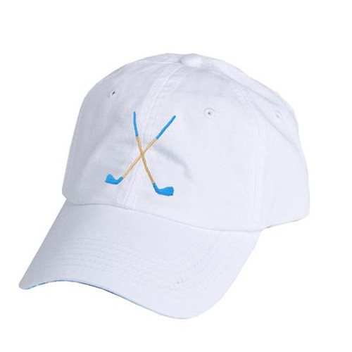 Ame & Lulu Golf Lovers Hat - Ticking Stripe