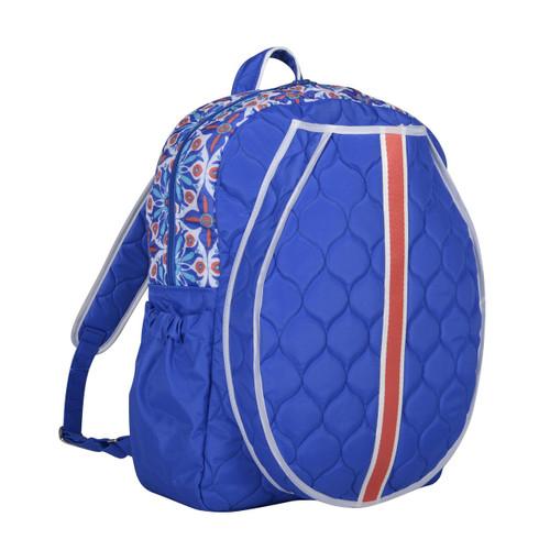 cinda b Royal Bonita Tennis Backpack