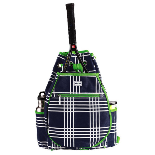 Ame & Lulu Kingsley Tennis Backpack - Parker Plaid