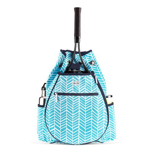 Ame & Lulu Kingsley Tennis Backpack - Surf