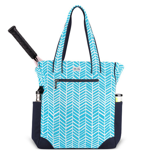 Ame & Lulu Emerson Tennis Tote Bag - Surf