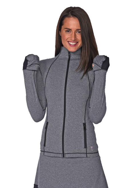 Golftini Heather Grey Tech Jacket