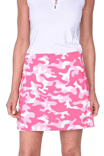 Golftini Scramble Camo Performance Golf Skort