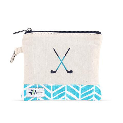 A&L Surf Crossed Clubs Golf Tee Bag