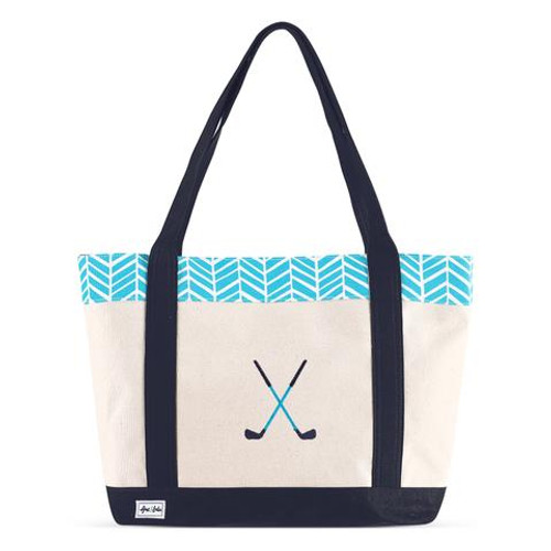 A&L Surf Golf Lovers Tote