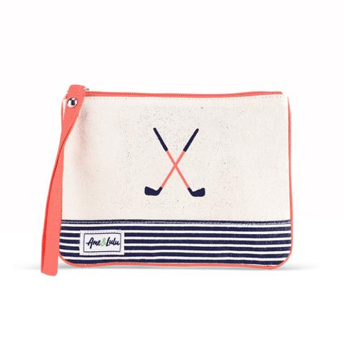 A&L Blaine Golf Lovers Wristlet