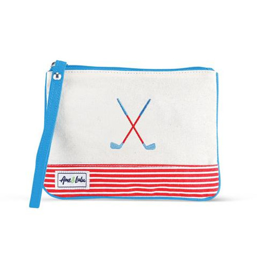A&L Bitsy Golf Lovers Wristlet