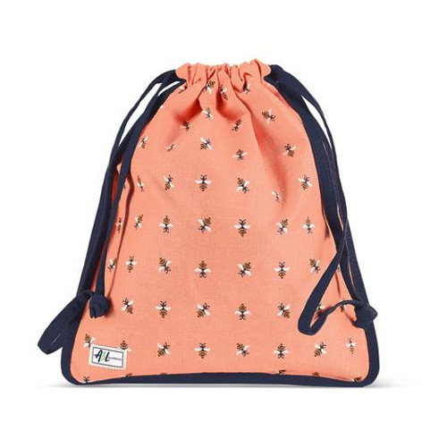 A&L Bees Knees Drawstring Shoe Bag