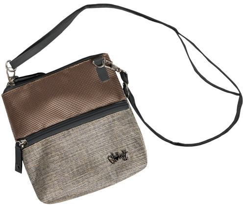 Glove It Mixed Metals Zip Golf Accessory Bag