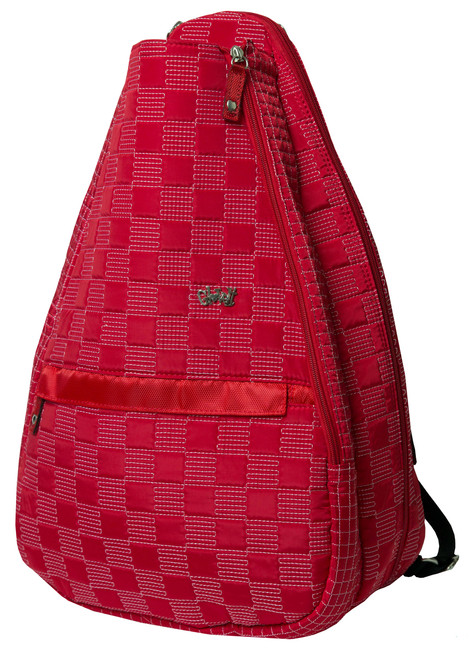 Glove It Lady in Red Tennis Backpack