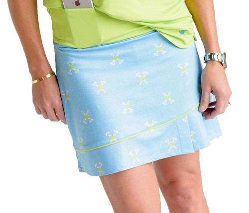 Birdies & Bows Twisted Tees Golf Skort