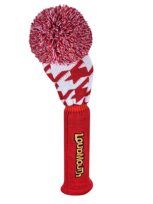 Loudmouth Red Houndstooth Driver Cover
