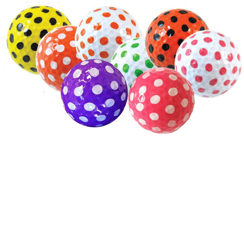 Polka Dot Golf Balls (2 count)