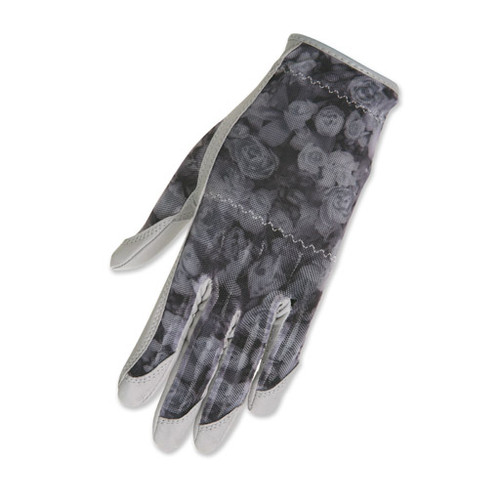 HJ Glove Solaire Grey Rose Ladies Golf Glove - Size: Medium