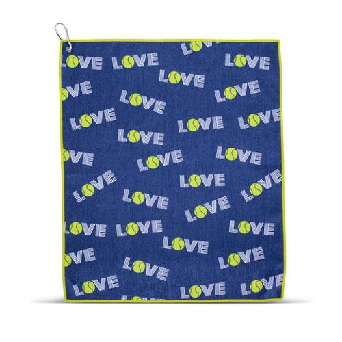 Ame & Lulu Love Tennis Sport Towel