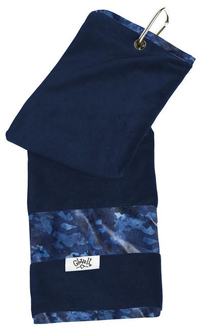 Glove It Blue Camo Ladies Golf Towel