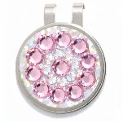 Blingo Light Pink Ladies Golf Ball Marker