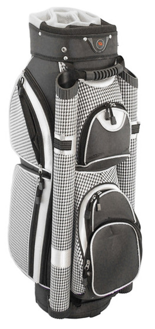 Hunter Golf Eclipse Houndstooth Ladies Cart Bag