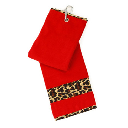 Glove It Leopard Ladies Golf Towel