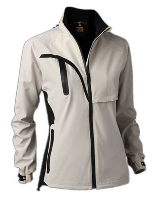 Glen Echo Stone Women's Stretch Tech Rain Jacket