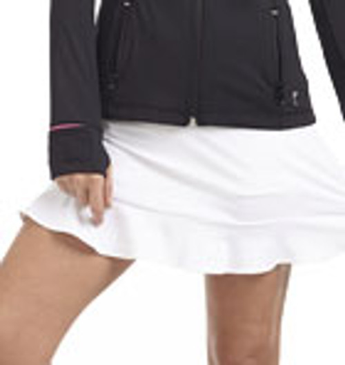 Golftini White GT Tech Pull On Skort
