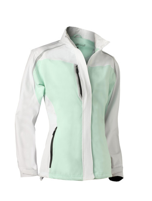 Glen Echo Mint Women's Flagship Stretch Tech Rain Jacket