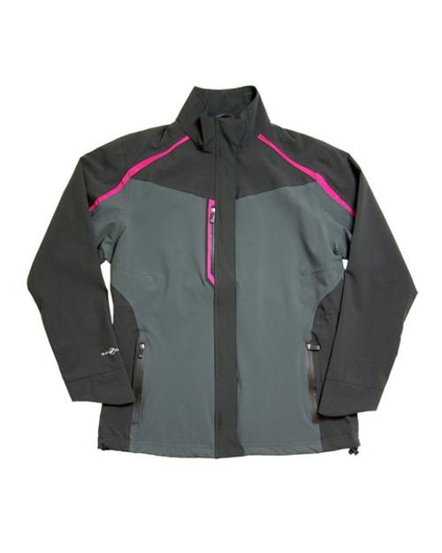 Glen Echo Charcoal Women's Flagship Stretch Tech Rain Jacket