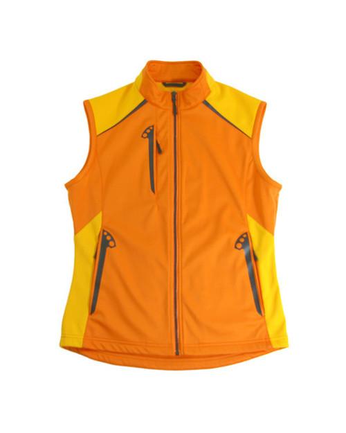 Glen Echo Orange Ladies Stretch Tech Water Repellent Vest