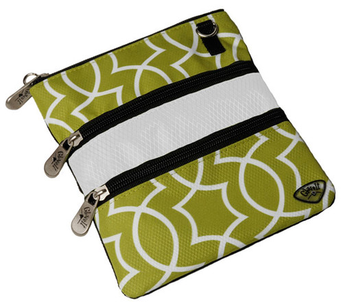 Glove It Kiwi Largo 3 Zip Golf Accessory Bag