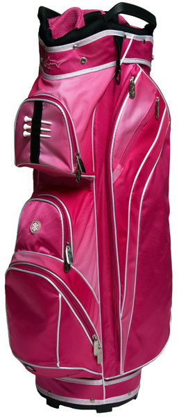 Greg Norman Women's Pretty In Pink Golf Bag