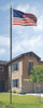 All-American In-Ground Flag Pole - Flag Included