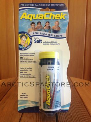 Aquachek Salt Test Strips