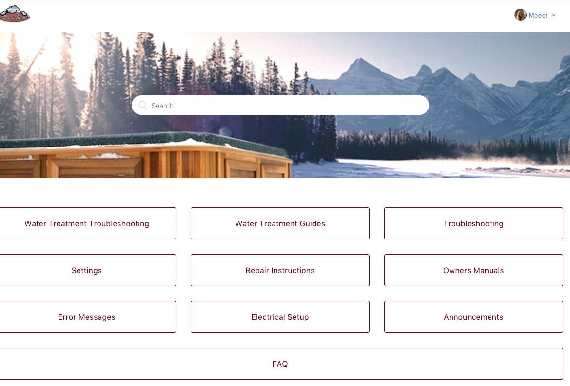 arctic spa error codes arctic spa store rh arcticspastore com Arctic Fox Spas Arctic Spa Banner