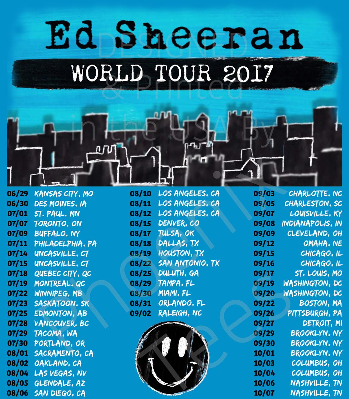 Ed Sheeran X World Tour