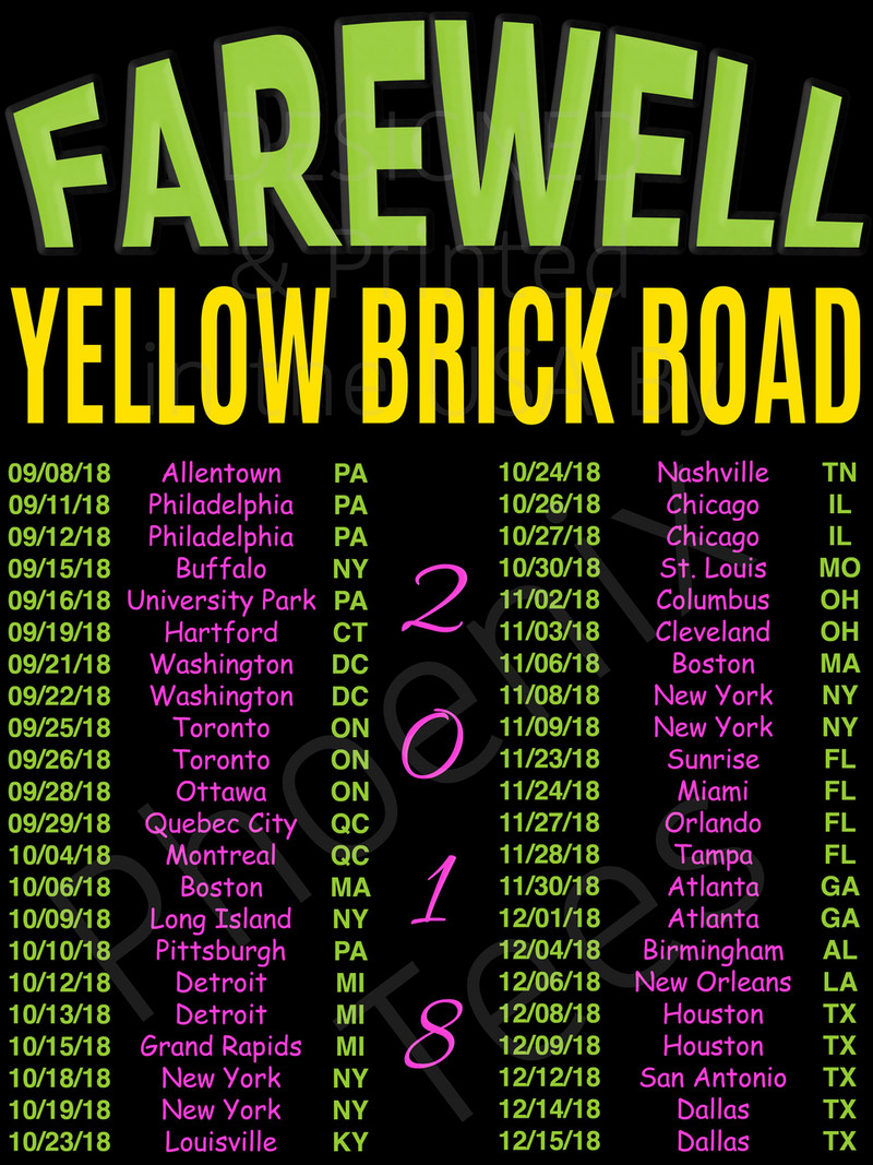 how to make a yellow brick road