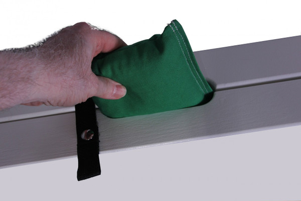 Bag storage compartment