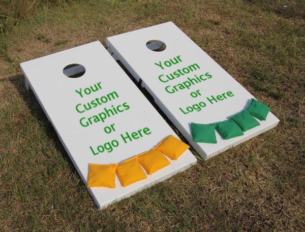 Cornhole Board - Slimline Series - Custom Graphics