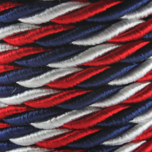 USA Colored Twisted Fabric Cable 3 Core 2166375