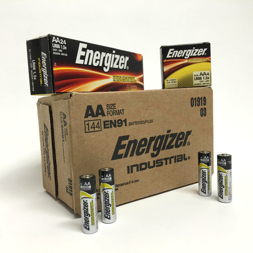 Energizer Industrial AA Batteries - Box of 24