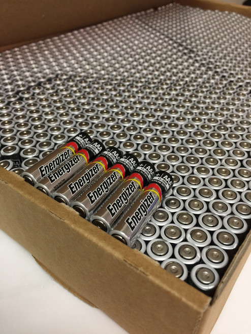 Energizer Max AAA Batteries - Case of 1,189