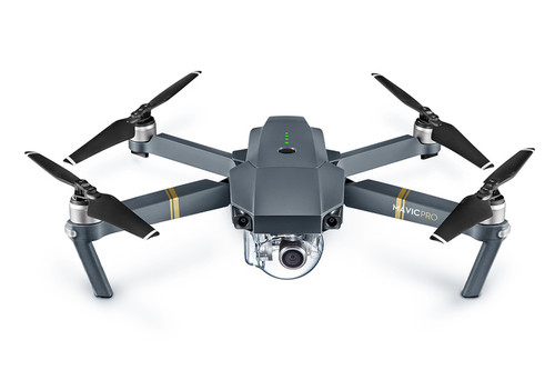 Mavic Pro Aircraft (Excludes Remote Controller and Battery Charger)
