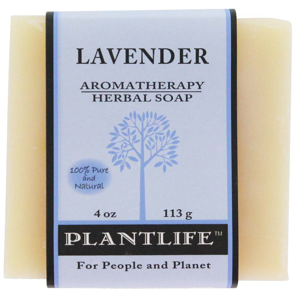 Plantlife Aromatherapy Herbal Soap - Lavender
