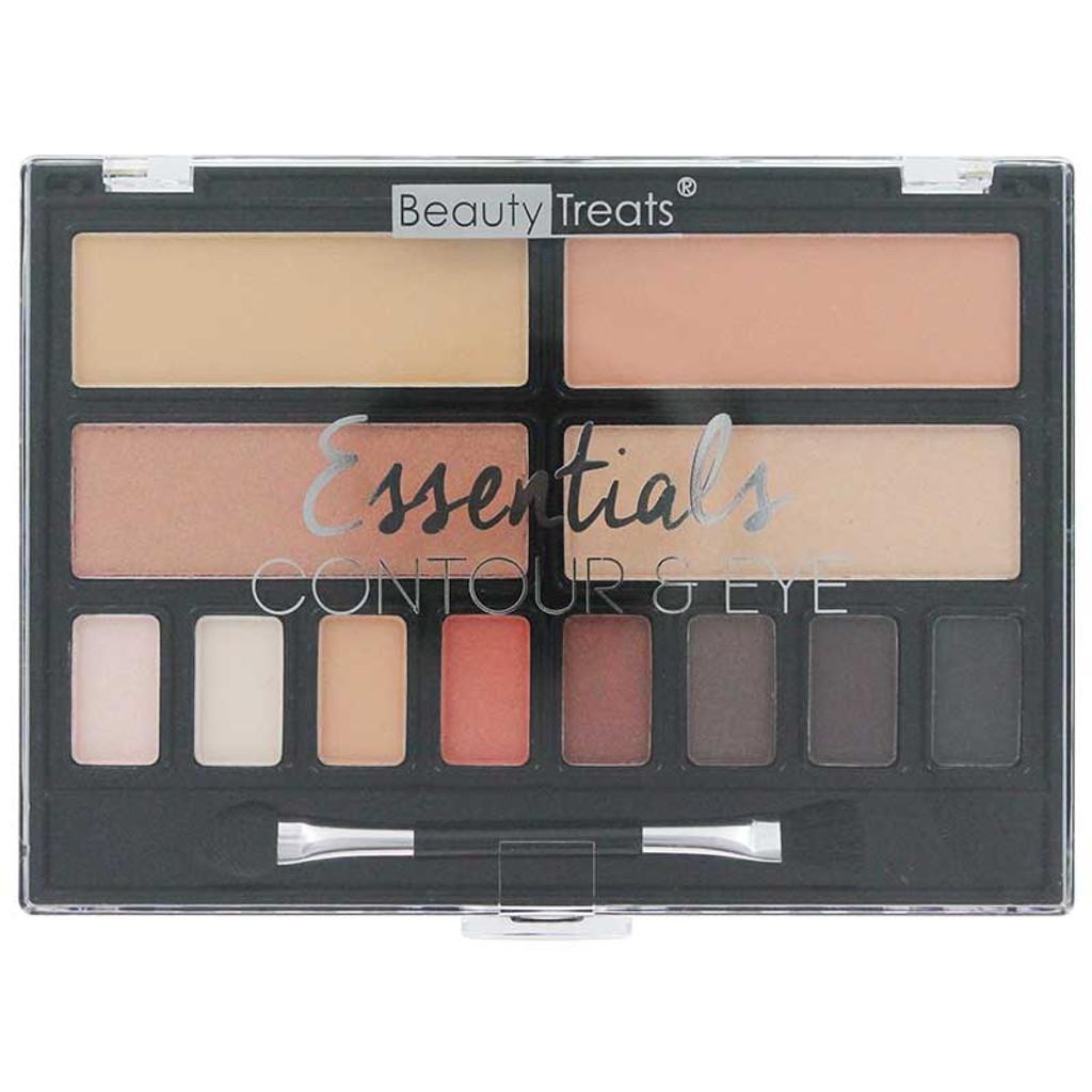 Beauty Treats Essentials Contour & Eye Palette - Day