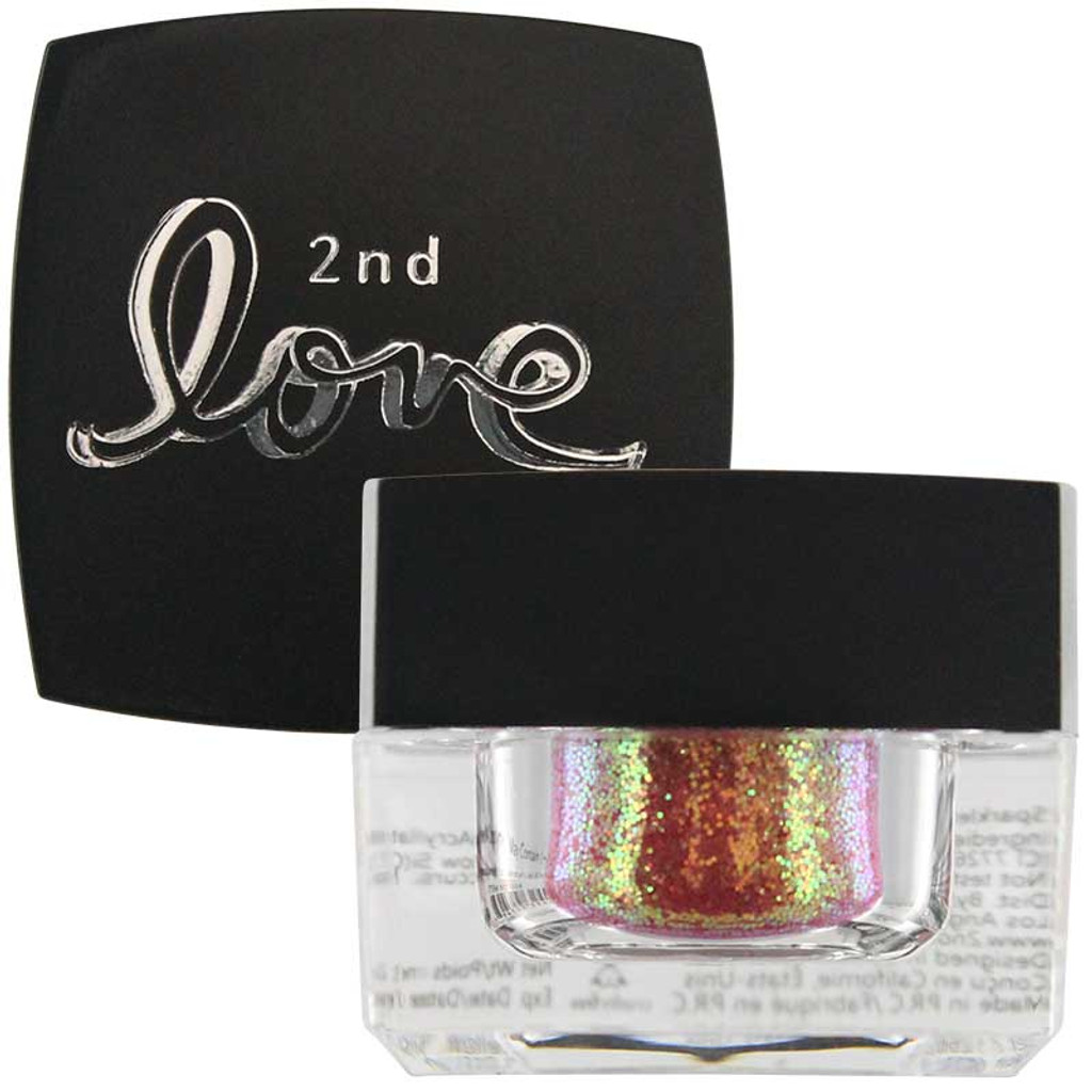 2nd Love Loose Sparkle Glitter - Red