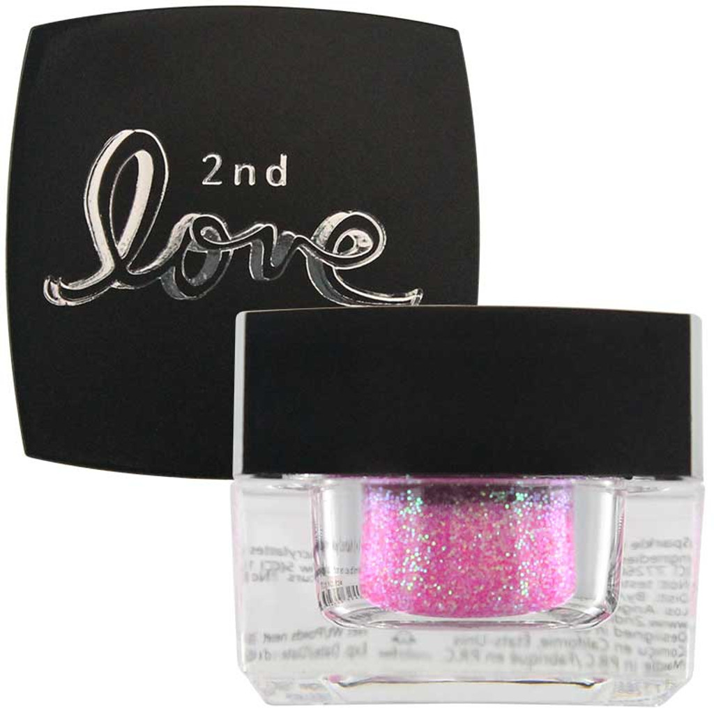 2nd Love Loose Sparkle Glitter - Pink